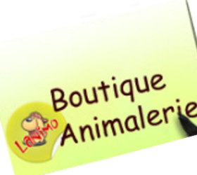 Logo boutique animalerie